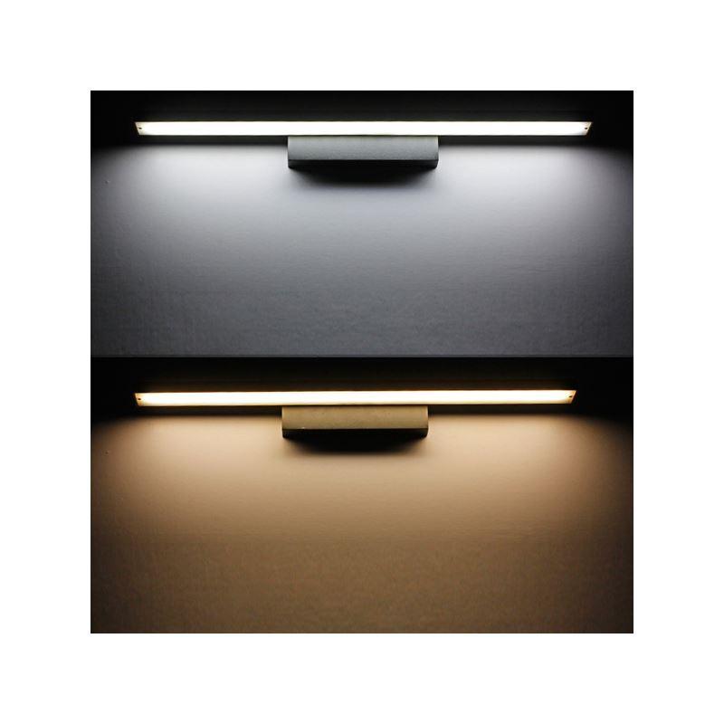 LED-Spiegelleuchte Wandmontage im Badezimmer