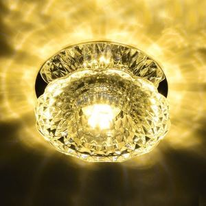 (In Stock)LED Mini Deckenleuchte Kristall 3W