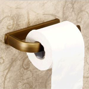 (EU Lager)Toilettenpapierhalter Antik Messing Bad Accessoires