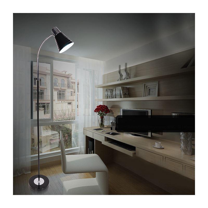 Stehleuchte modern design im wohnzimmer lesezimmer for Wohnzimmerleuchten modern