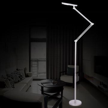 Stehlampe Modern Design Weiß im Wohnzimmer Lesezimmer