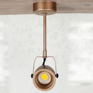 (EU Lager)Strahler Landhaus Retro Stil im Wohnzimmer Kupfer Farbe